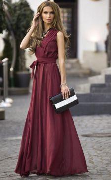 Платья бордового цвета: нюансы создания элегантных и модных образов