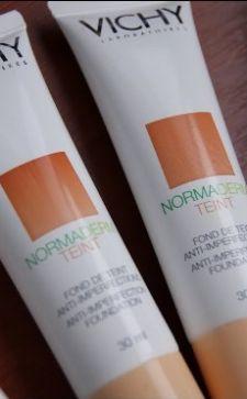 Тональный крем Vichy Normaderm: маскирующее средство с лечебным эффектом