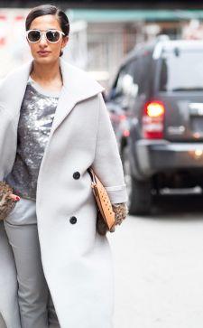 Стильное и модное пальто-оверсайз: актуальные модели 2018 года