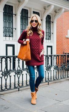 С чем носить рыжие ботинки: тонкости создания ярких или уютных образов