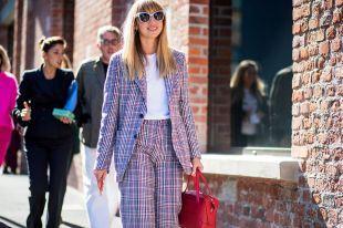 Пиджак в клетку – элегантный предмет гардероба