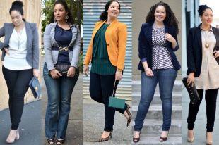 Брюки для полных женщин: базовые и нарядные образы