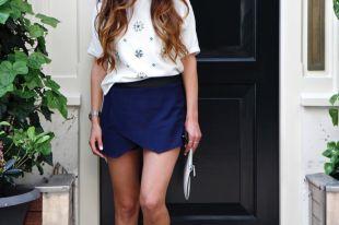 Юбка-шорты – универсальная и практичная модель для стильных женщин