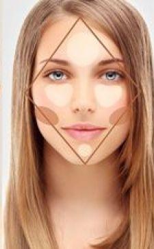 Коррекция лица макияжем: от общих очертаний и до линии губ