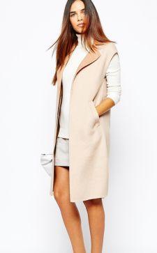 С чем носить женский жилет: выбираем пальто без рукавов на весну