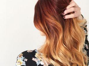 Омбре на рыжие волосы: нюансы окрашивания