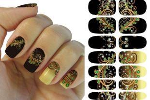 Как клеить наклейки на ногти, чтобы они хорошо держались и отлично выглядели