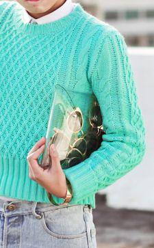 Мятный цвет в одежде: как сочетать с другими оттенками