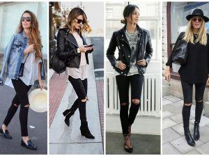 С чем носить черные джинсы: подбираем модный лук в новом сезоне