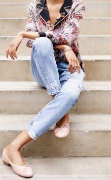 Кожаные балетки: самые стильные решения 2018 года
