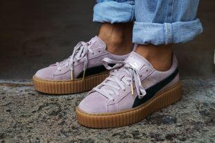 Кроссовки Puma by Rihanna: футуризм и бунтарский стиль