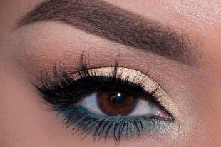 Тени для карих глаз: контрасты и оптические эффекты