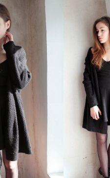 Черный кардиган: трендовый элемент капсульного гардероба