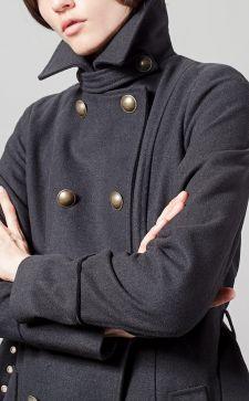 Модное драповое пальто 2018 года: обзор актуальных моделей