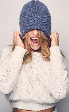 Стильные фасоны женских шапок
