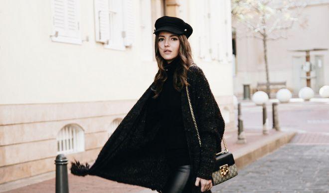 С чем носить черную водолазку: подборка сочетаний на каждый день
