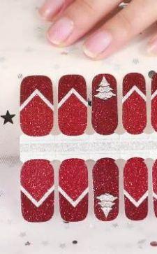 Трафареты для маникюра: варианты дизайна ногтей