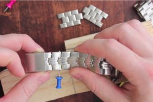 Как укоротить ремешок на часах: пошаговая инструкция