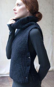 Трикотажный жилет – стильная деталь гардероба для любого времени года