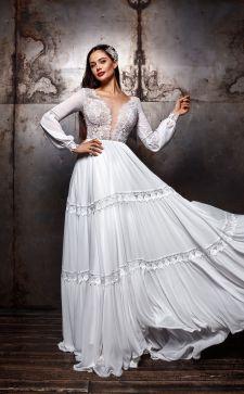 Красивые свадебные платья plus size