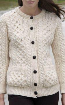 Вязаный жакет – уютная альтернатива пиджаку