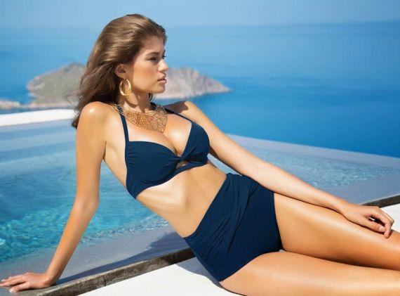 Модные купальники в ретро стиле: винтажные модели для худых и полных