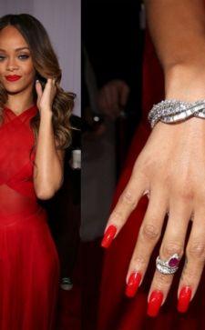 Маникюр под красное платье: фото, оригинальные идеи для украшения ногтей