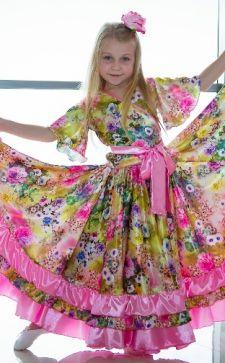 Цыганский костюм для девочки: как создать интересный образ