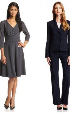 Модный классический стиль в женской одежде 2018