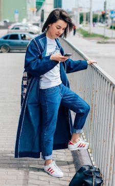Джинсовое пальто: особенности, модели, с чем носить