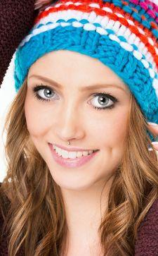 Как подобрать женскую шапку под круглый тип лица