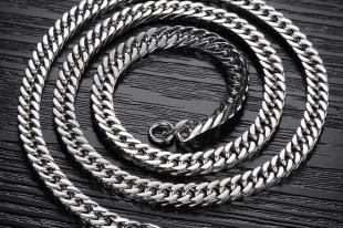 Мужские серебряные цепочки: подбираем элегантный аксессуар