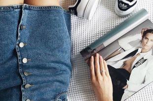 Джинсовая юбка – современная классика