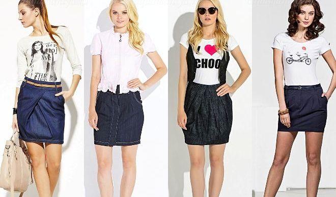 Женственная юбка-тюльпан – универсальная модель гардероба