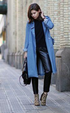 Модный джинсовый кардиган: лучшие сочетания