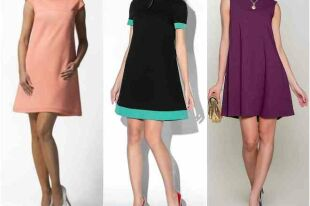 Платье-трапеция: выкройка за пару часов