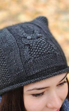 Модные женские шапки и кепки с кошачьими ушками