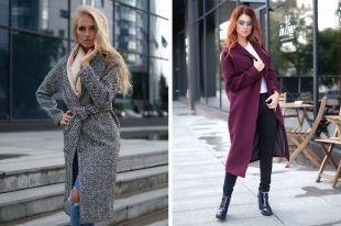 Твидовое пальто женское – must have модного гардероба