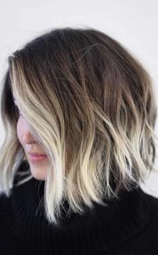 Омбре на короткие волосы: когда не хочется кардинальной смены имиджа