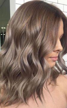 Цвет волос «капучино»: кому подходит кофейный оттенок