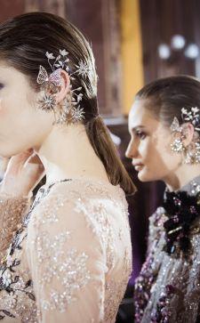 Серьги-каффы: с чем сочетать новое модное украшение