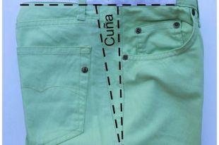 Как аккуратно расширить джинсы в поясе