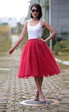 Юбка-шопенка: как сделать стильную вещь своими руками