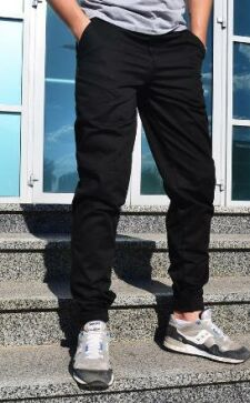 Джинсы с резинкой внизу мужские: современный спортивный образ