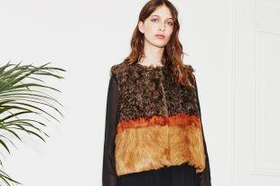Меховые жилеты: модные тенденции 2020-2019 года