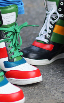 Стильные женские кроссовки весна лето 2018