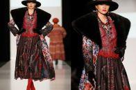 Современная одежда в русском стиле: этническое прошлое на европейских подиумах