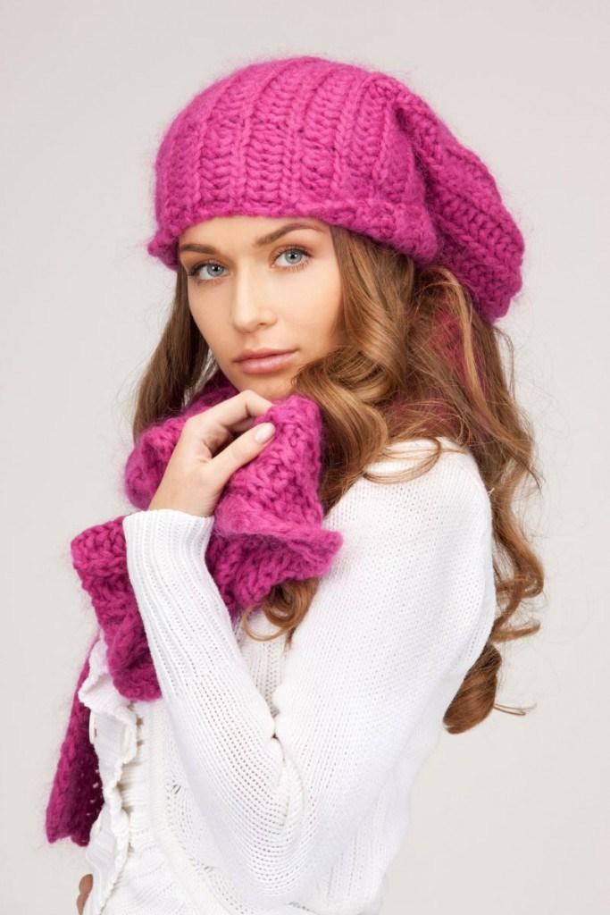 Пурпурная шапка