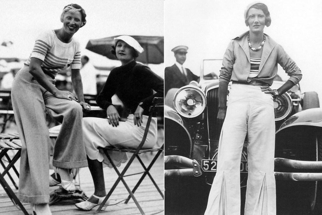 Женщины в брюках в 30-х