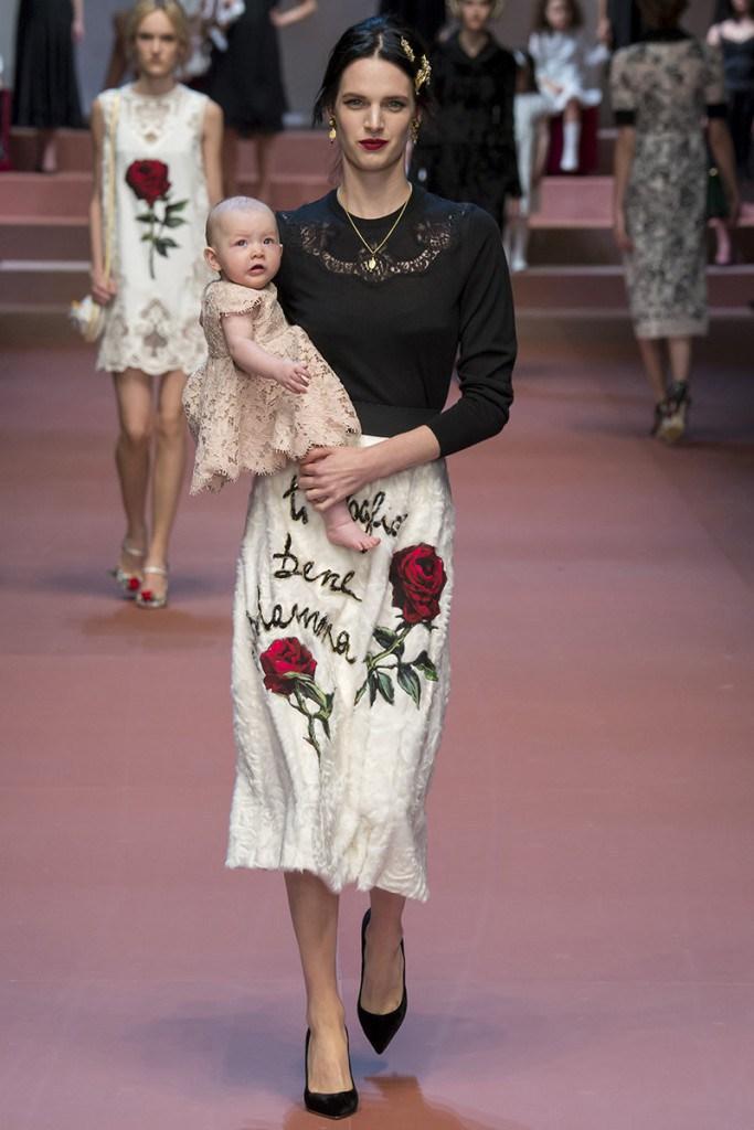 Меховая юбка Dolce & Gabbana